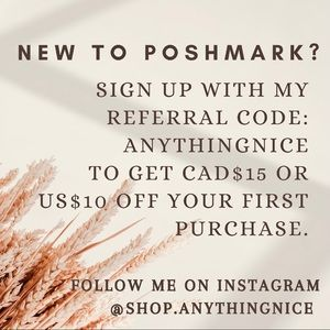 REFERRAL CODE Get CAD$15 or US$10 off your first purchase*